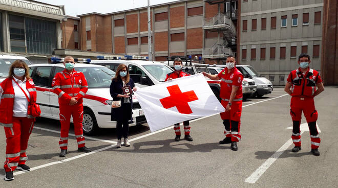 Sindaco Barbieri Croce Rossa