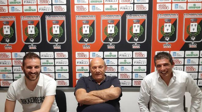Tabbiani e Cammaroto con il presidente Pinalli