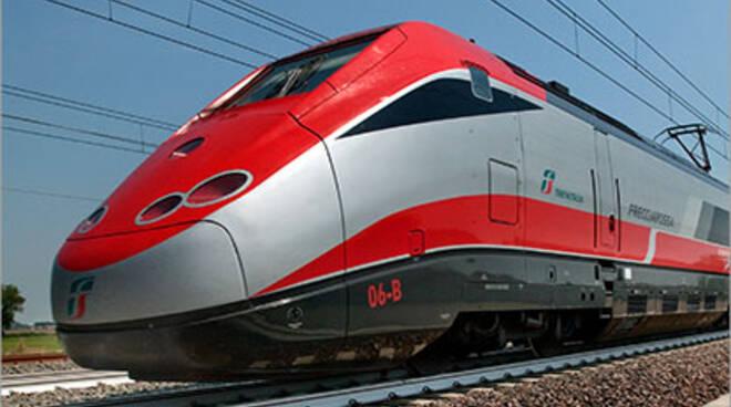 Treno Frecciarossa (foto trenitalia.com)