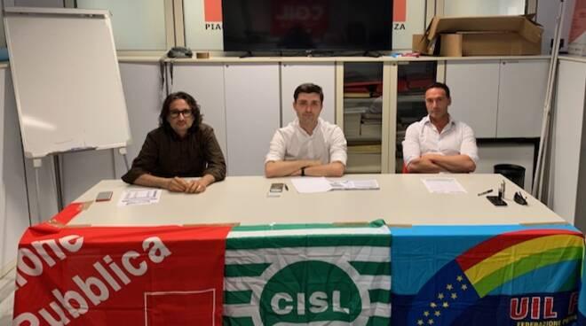 Alberto Canepari, Giovanni Baiardi e Gianmaria Pighi