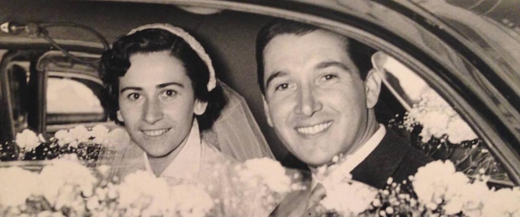 Angelo Dordoni e la moglie Anna