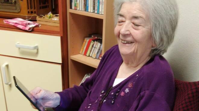 Anziana residente Cra