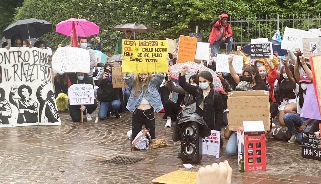 Black lives matter, la manifestazione a Piacenza