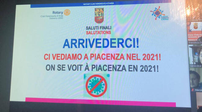 Conviviale Rotary Fiorenzuola e Marignane