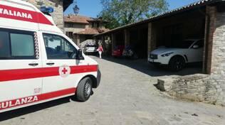 Croce Rossa Bobbio incornato da un toro