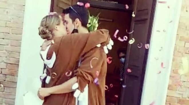 Elisa e Fabio sposi