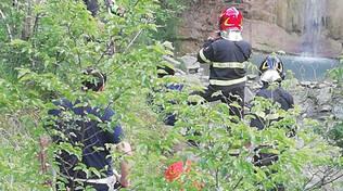I soccorsi per l'escursionista ferita a Bobbio