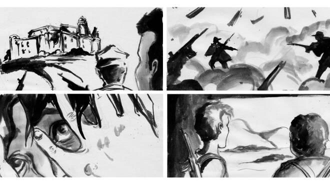 """Illustrazioni film """"Fischia il Vento"""""""