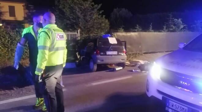incidente mortale Twingo Cortemaggiore