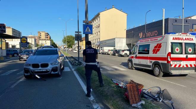 incidente via Emilia Pavese