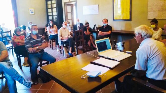La riunione in Comune a Piozzano