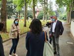 La visita di Schlein al centro estivo di Podenzano
