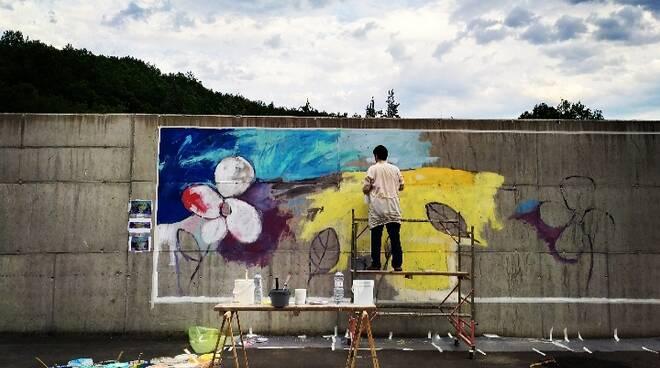 "Murales ""Rinascita"" di Paolo Capitelli"