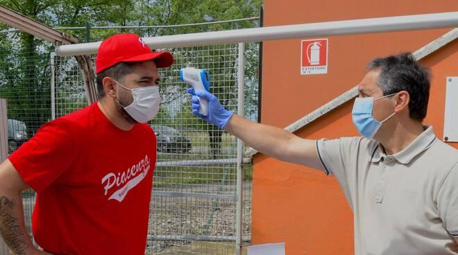 Piacenza Baseball coronavirus