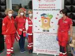 raccolta viveri Croce Rossa