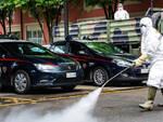 Sanificazione locali questura e comando carabinieri