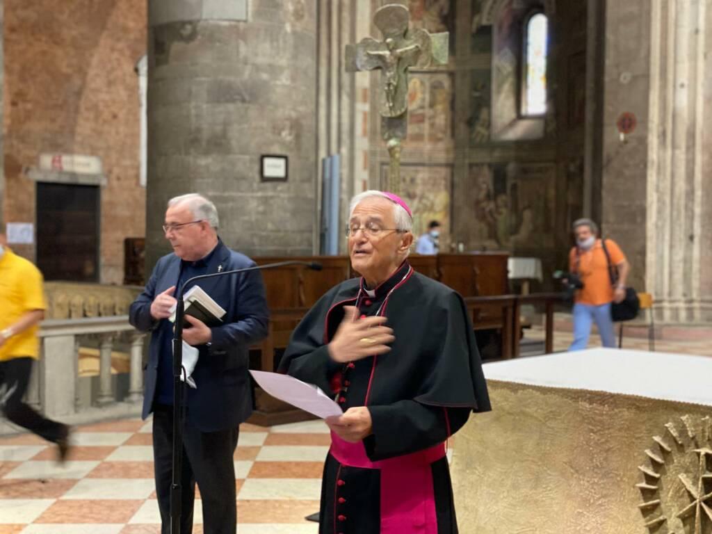 Ambrosio nuovo vescovo