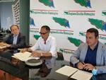 Andrea Corsini, Massimo Caravita e Amalio Guerra