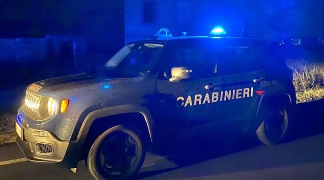 carabinieri notte jeep