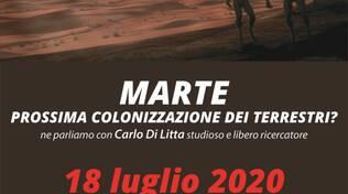 Marte prossima colonizzazione dei Terrestri ?