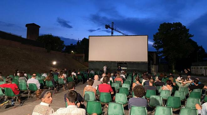 Cinema all'aperto a Piacenza