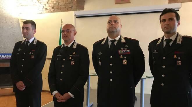 comando carabinieri Abrate
