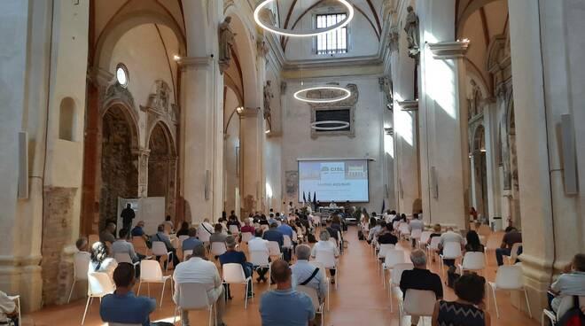 Consiglio generale Cisl all'ex Chiesa del Carmine