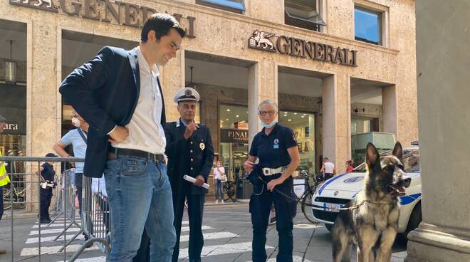 Ector cane poliziotto