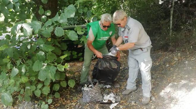 Guardie ecologiche a Bobbio