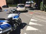 incidente bici a San Nicolò