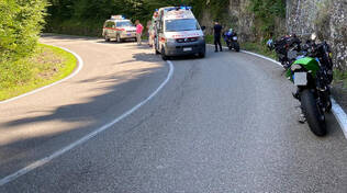Incidente in moto lungo la statale 45