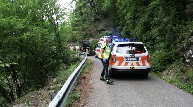 incidente strada Salso Minore
