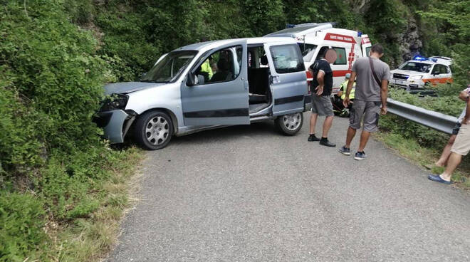 Incidente strada Salsominore