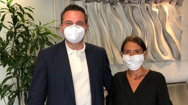 Katia Tarasconi e Raffaele Donini