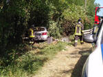 L'incidente sulla via Emilia a Castelsangiovanni