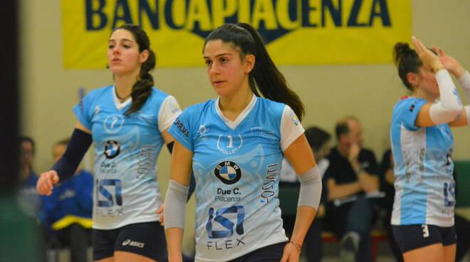 Nella foto (Pallavolo San Giorgio), Chiara Tonini