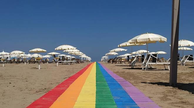 Passarella arcobaleno