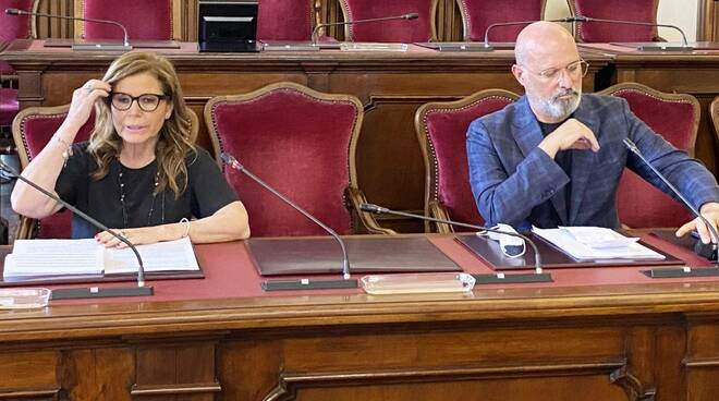 Patrizia Barbieri e Stefano Bonaccini