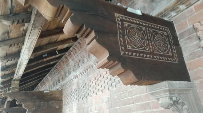 tetto loggia piazzetta delle Grida