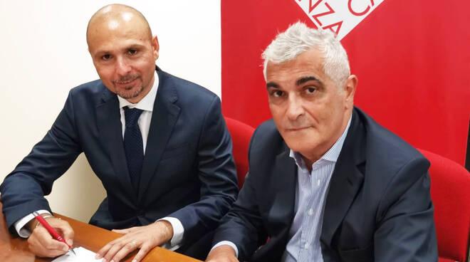 Vincenzo Manzo con Roberto Pighi