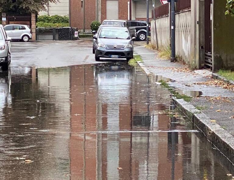 allagamenti strade Piacenza