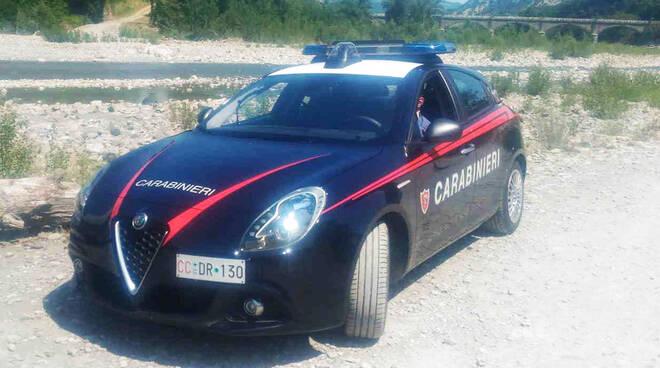 Carabinieri a Bobbio