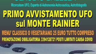 Primo Avvistamento Ufo sul Monte Rainier