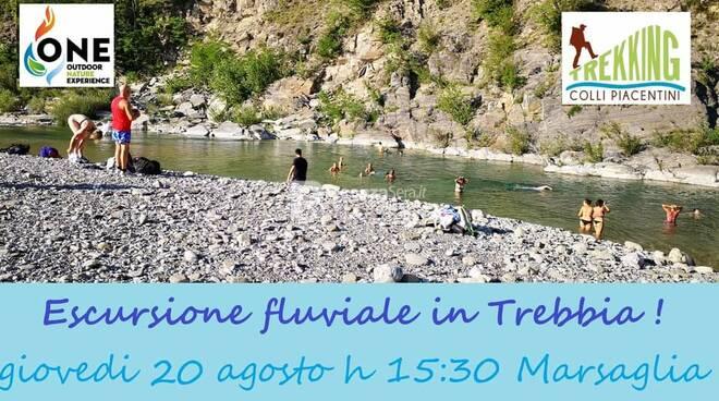 Nei meandri del Trebbia BIS! Escursione fluviale + Aperitivo!
