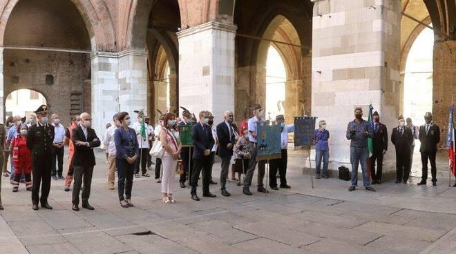 Commemorazione vittime della Pertite (foto Pagani)