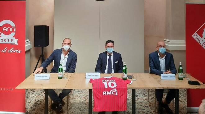 Conferenza stampa Piacenza Calcio