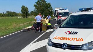 Il ciclista investito a San Nicolò