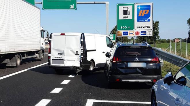 Incidente A1 Fiorenzuola