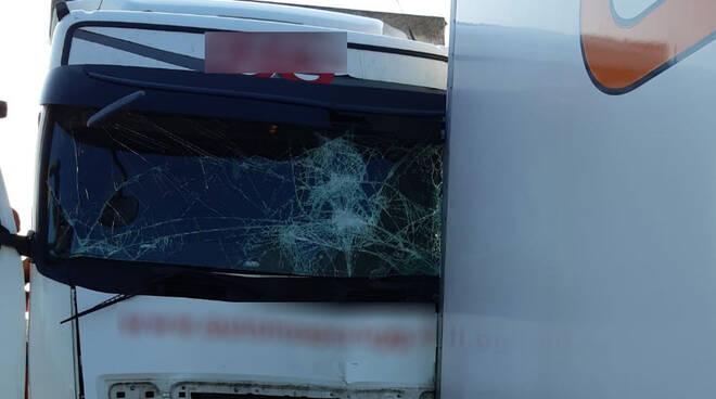 L'incidente in A21