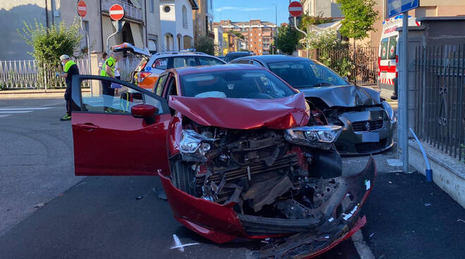 L'incidente in via Uttini